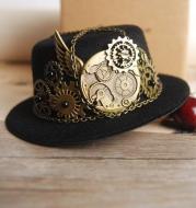 Party Show Decoration Hat Steampunk Hat Retro Lolita Accessories Gear Gay
