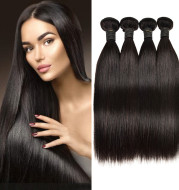 European And American Wigs, Real Hair Weaves, Natural Color, Smooth Hair Weaves