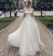 Angel Wedding Dress Sen-Line Super Fairy One-Shoulder Bridal Travel
