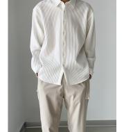 Spring And Summer Thin Long-Sleeved Shirt Men's Loose Casual Men's Inch Shirt