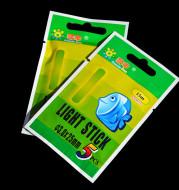 Glow Sticks, Luminous Sticks, 2 Pcs, 5 Sticks, Night Fishing Glow Sticks, Accessories