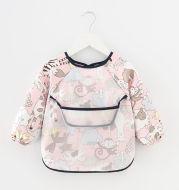 Waterproof Long-Sleeved Anti-Wear Baby Eating Clothes