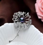 Temperament Corsage Women's Jacket Pin Accessories Elegant Tulip Brooch