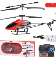Through Alloy Anti-Fall Remote Control Aircraft, Aviation Model Children'S Toy Cross-Border Helicopter