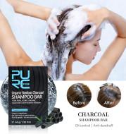 Hand-Extracted Soap Shampoo Bamboo Charcoal Shampoo Soap