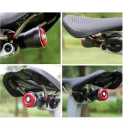 Smart Brake Tail Light Bicycle Usb Rechargeable Tail Light Bicycle Road Bike Seat Cushion Seat Pole Light Safety Warning Light