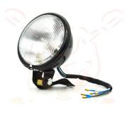 Retro Car Light Yellow Glass Retro Headlight Far And Near Fog Light