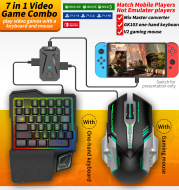 New PS4 Console Keyboard and Mouse Converter