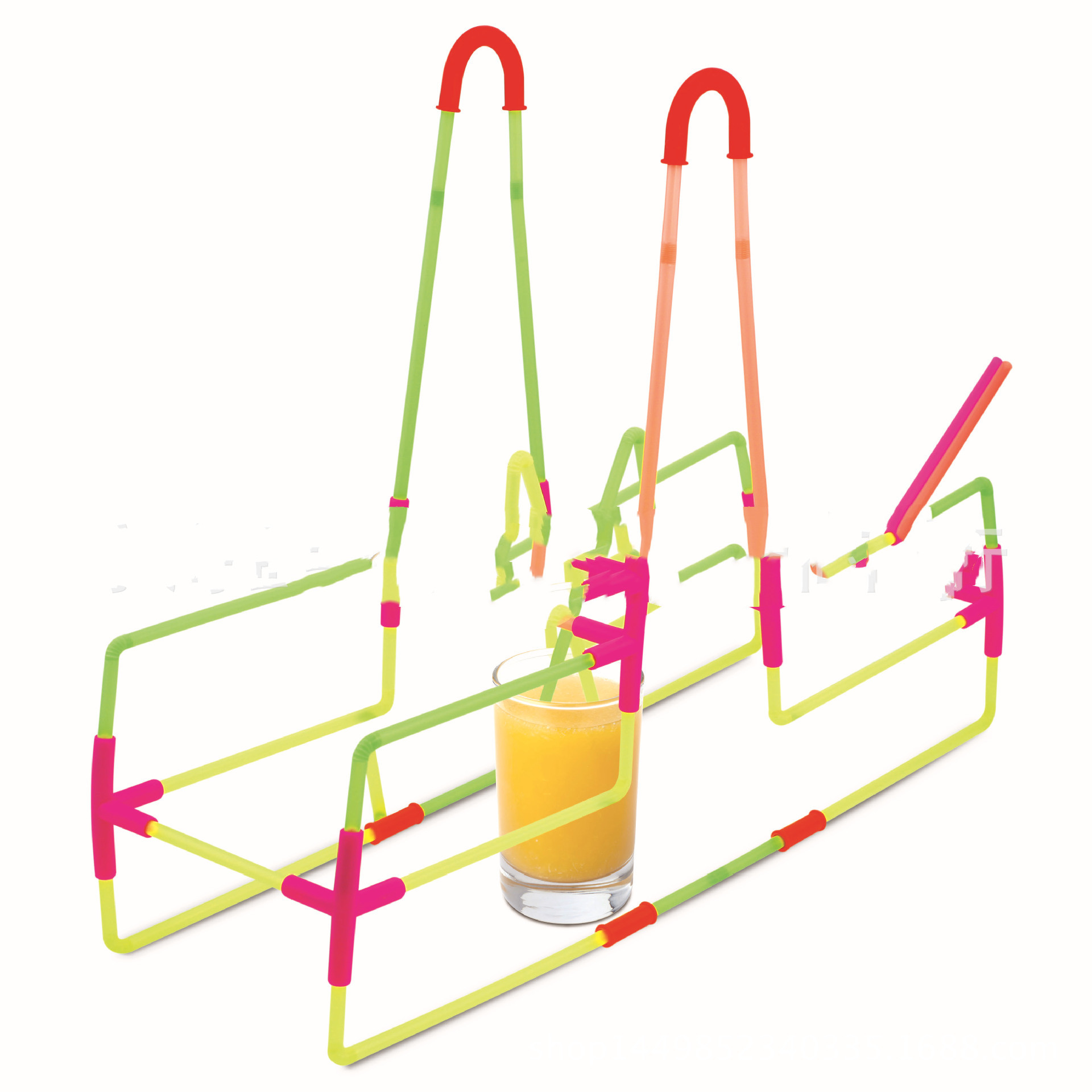 DIY Fun Drinking Straw Connector Kit 4