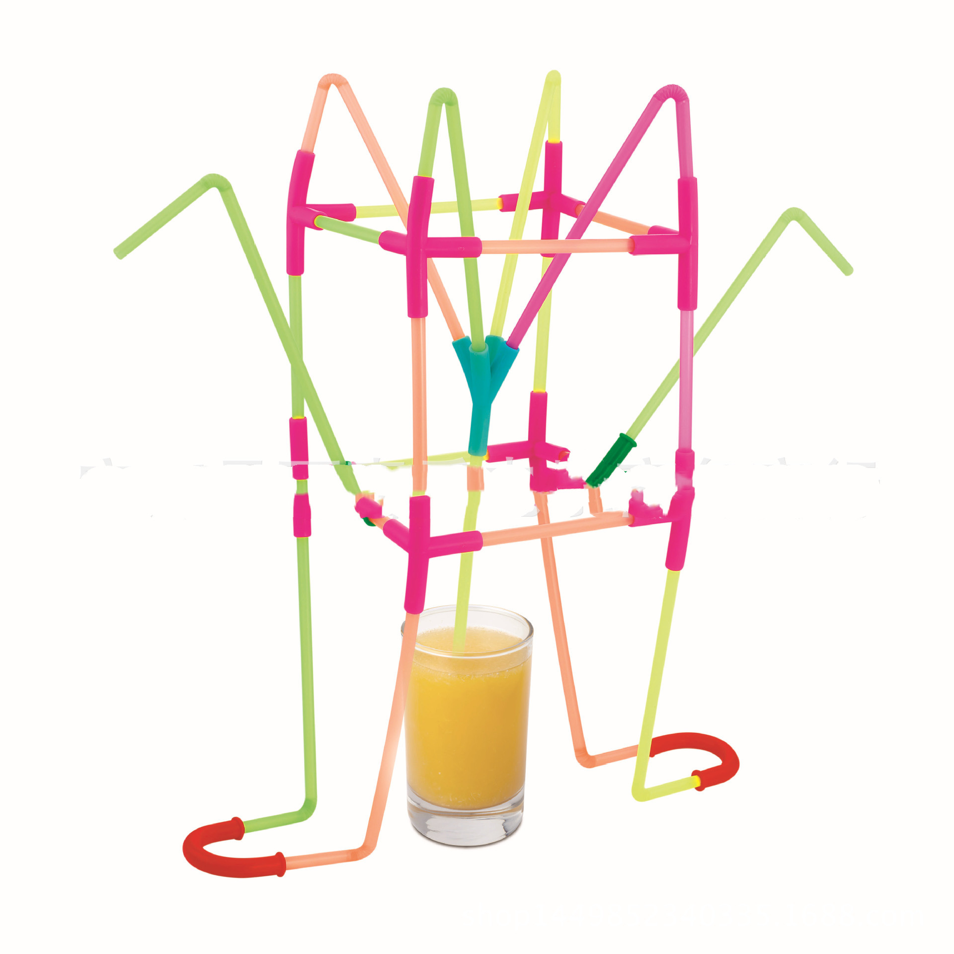 DIY Fun Drinking Straw Connector Kit 1