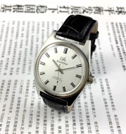 Old Shanghai Watch Men'S Mechanical Watch 7120 Manual Winding Retro Stainless Steel Shockproof Collection