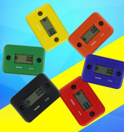 Tired Timer Motorcycle Motorboat Atv Lcd Induction Type Hour Meter 2 Punch 4 Punch Timer