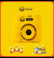 Little Yellow Duck Digital Camera Toy Self-portrait With Mini Game