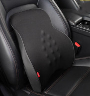 Car Electric Headrest Car Seat Electric Lumbar Cushion Memory Foam Lumbar Support Massage Headrest Lumbar Cushion Set