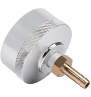 Refueling Tools, Engine Cap, Silver Aluminum Alloy Anti-Corrosion Modification