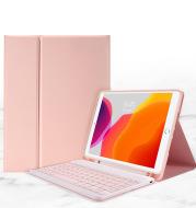 Air10.9Ipad10.2 Pen Slot Bluetooth Keyboard Leather Case Pro9.7Air2Mini45 Detachable Keyboard Cover