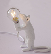 Mouse Personality Mini Decorative Lamp Children'S Room Table Lamp Dormitory Bedside Eye Protection Small Table Lamp