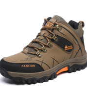 Men'S High-Top Hiking Shoes, Cross-Country Running Shoes, Outdoor Extra-Large Size Hiking Shoes