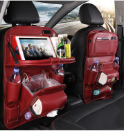 Pad-Bag Organizer Tray Car-Seat Car-Trash-Can Auto-Accessories Foldable Table Travel