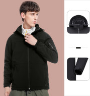 Fall New Men'S And Women'S Hoods Keep Warm, Comfortable And Breathable