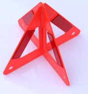 Automobile Triangle Warning Sign Car Fault Reflective Warning Frame