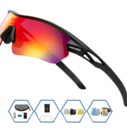 Polarized Cycling Glasses Bike Goggles Bicycle Sunglasses 21