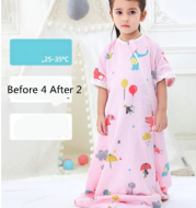 Baby Sleeping Bag Spring And Autumn Thin section Baby Summer Young Children Gauze Kick-proof Quilt Newborn Spring And Summer Seasons Universal