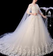 Wedding Dress Female Short Shoulder Simple Short