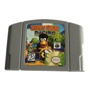 Donkey Kong Racing N64 Game Machine Game Card