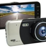 4-Inch L55 Dual Lens Dash Cam Car Hd Night Vision 1080P Jerry 5601 Reversing Image Ips