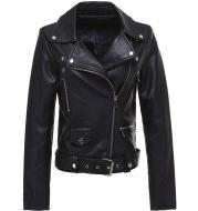 2020 Spring New Leather Jacket Women'S European Station Short Locomotive Suit Handsome Short Jacket Sleeveless Jacket Female Trend
