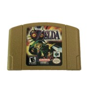 N64 Game Card Gold Shell Zelda Ocarina Of Time Master Quest Spot Direct Sales