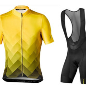 Short-Sleeved Bib, Cycling Suit, Cycling Suit, Moisture Wicking