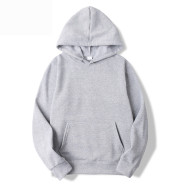 Mens And Womens Hooded Long-Sleeve Pocket Pullover Sweater To Map Customization