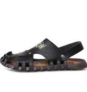 Baotou Sandals Men Casual Leather Sandals Men