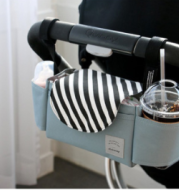 Baby Stroller Hanging Bag, Feeding Bottle, Water Cup, Diaper Storage Hanging Bag