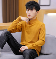 High-Necked Handsome Bottoming Shirt Sweater