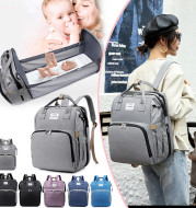 Fashion Backpack New Oxford Cloth Crib Bottle Bag Daily Out Trend Computer Bag