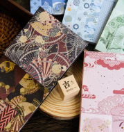 Fenghuaxueyue Series Creative Retro Hand Account Material 30 Sheets