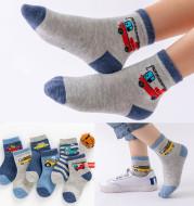 Boys And Girls Baby Cotton Socks Summer Breathable Boat Socks Middle School Children Student Socks