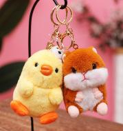 Cute Cute Chicken Groundhog Pendant Plush Toy
