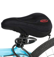 Mountain Bike Seat Cushion Thickened Seat Cover Comfortable Saddle Bicycle Equipment Riding Accessories Supplies