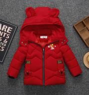 Baby Padded Jacket Boys Padded Coat Winter Padded Hooded Jacket