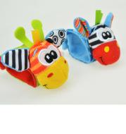 Baby Wrist Band Early Education Plush Toy Watch Band