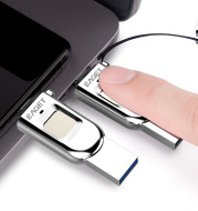 Fingerprint Encryption Mobile Phone U Disk Computer Dual-Use