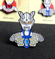 A Tribute To Childhood Nostalgia Special Photo Badge, Salted Egg Superman Brooch, Light Country Surrounding Ins Style Backpack Accessories
