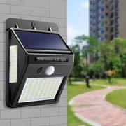 Led Solar Wall Light Human Body Induction Outdoor Garden Light Energy-Saving Waterproof Outdoor Lighting Street Light