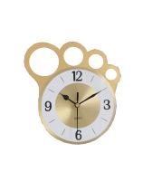 Modern Simple Nordic Iron Desk Clock Gold Creative