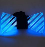 Led Acrylic Luminous Bow Tie