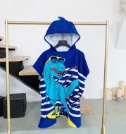 Hooded Bathrobe Cloak For Boys And Girls